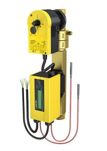 Dynamic flow control system with 2-way or 3-way valve and energy monitoring, eValveco